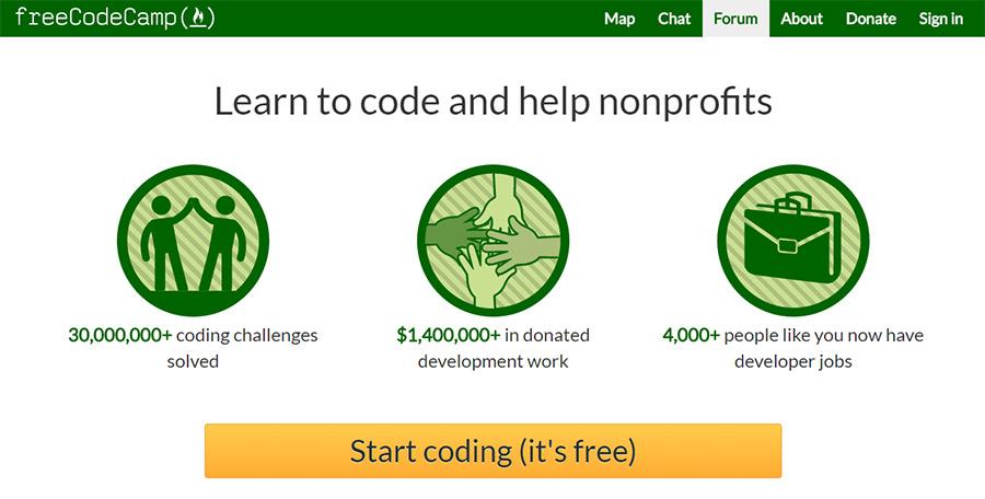 free codecamp website