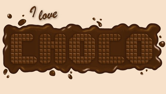 How to Create a Delicious Chocolate Text Effect