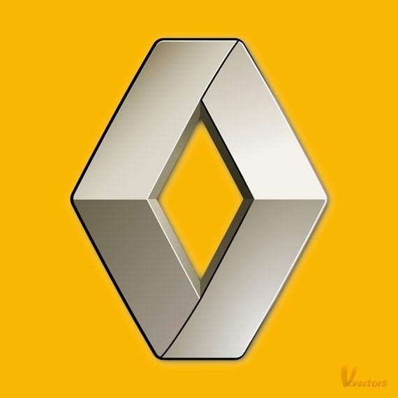 Create the Renault logo - Adobe Illustrator Text Effects Tutorials