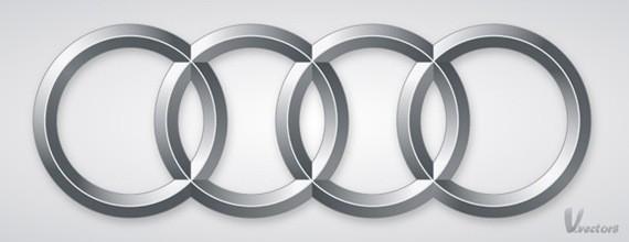 Create the Audi logo - Adobe Illustrator Text Effects Tutorials