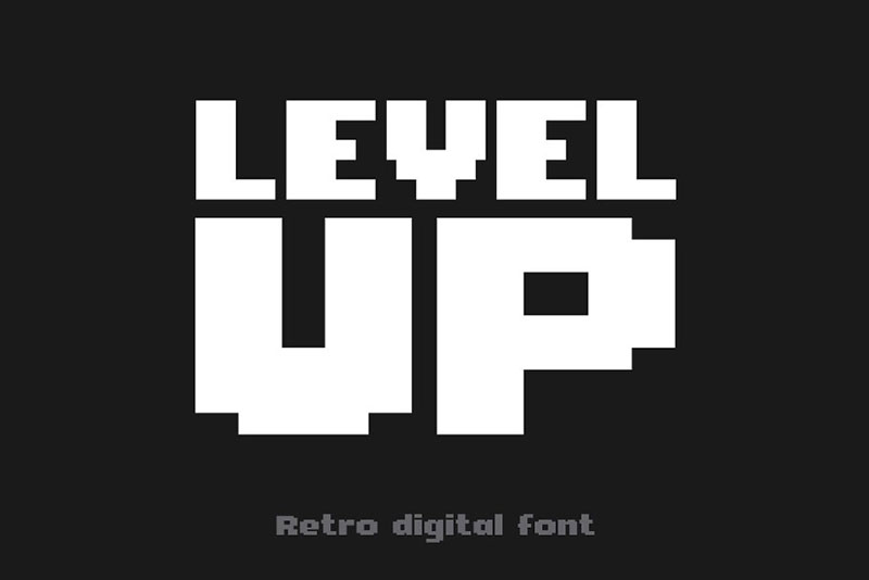 Level-Up-Font What font does Minecraft use? (Answered)