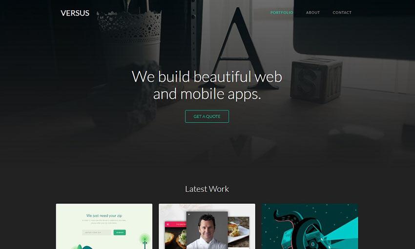 Versus Webflow Theme