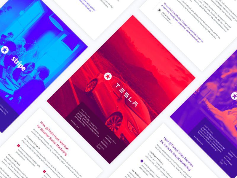 Success Story Branding Presentation Design inspiration