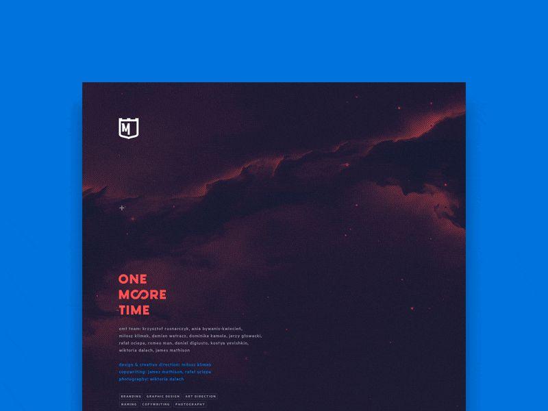 One More Time Branding Presentation Design inspiration