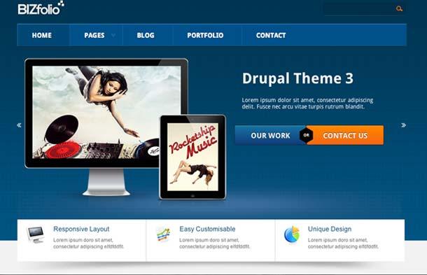 drupal html5 theme