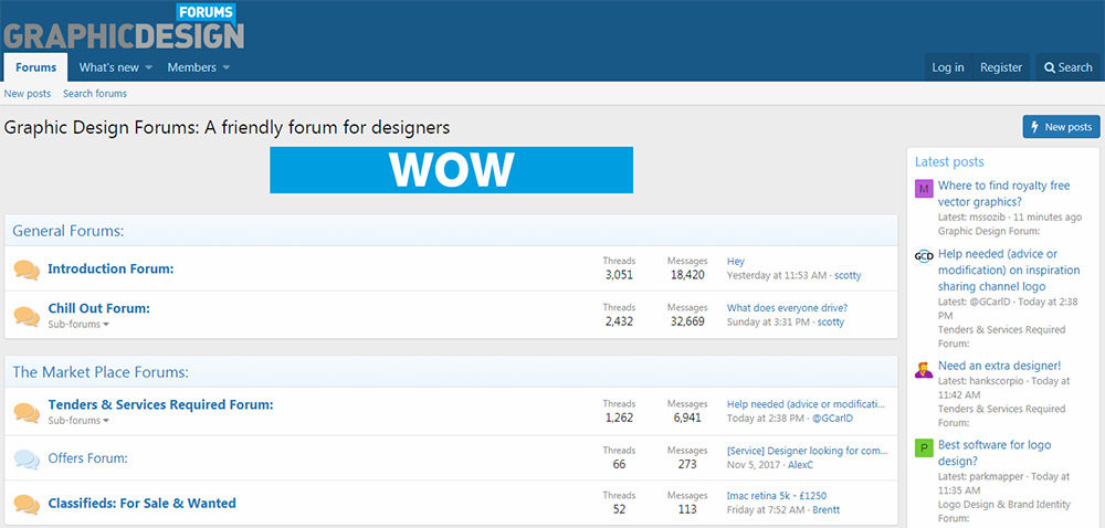 Graphic Design Forums