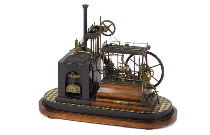 Steam Walking Beam Engine