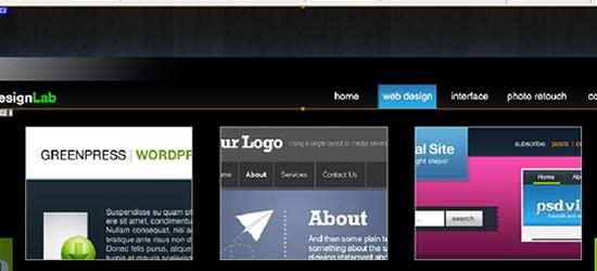 Coding: Design Lab TV Styled Layout