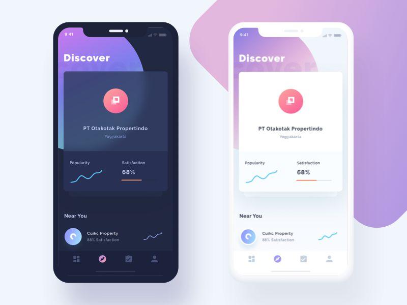Property Developer Finder Mobile App iOS 11 App Design