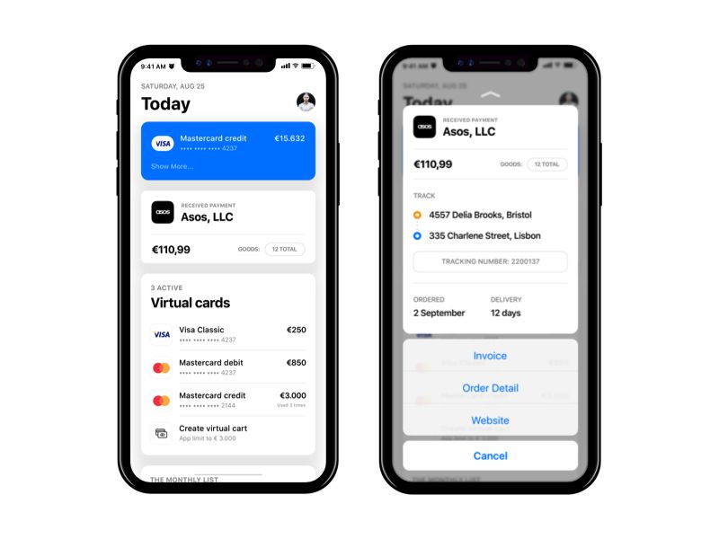 Newbank Today iOS 11 App Design