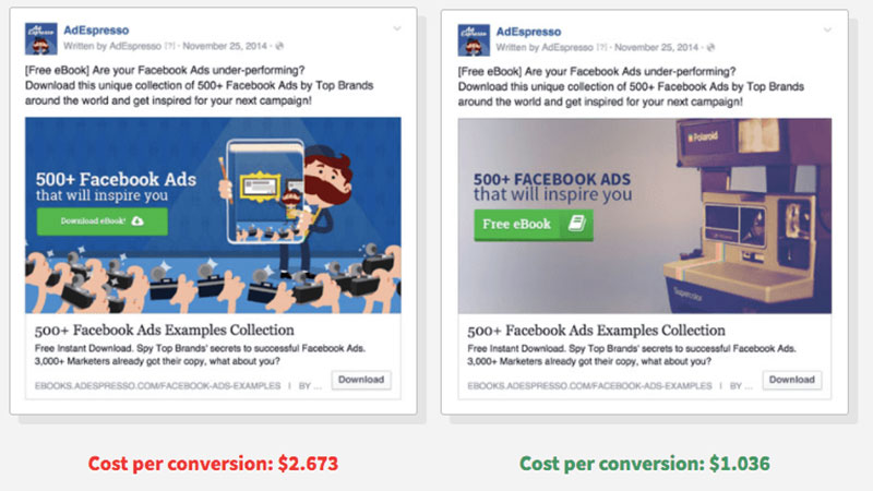 split-test 11 Advertisement Design Tips That Will Help You Make an Impression