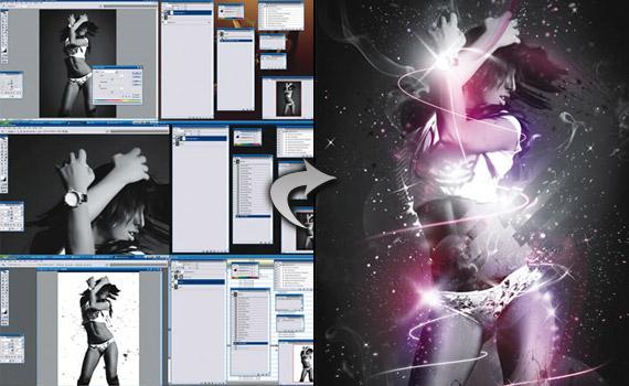 sparkle-woman-photo-effect-montage-photoshop-tutorial