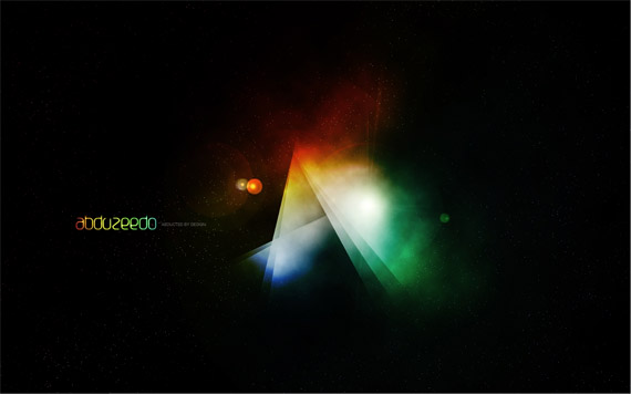 Space-steps photoshop abstract lighting effects tutorials