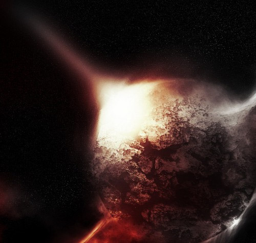 Quick-effective-planet-star-meteorit-impact-creation-abstract-lighting-effects-tutorials