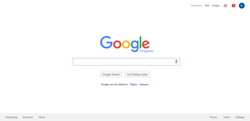 Google does not need a lot of aesthetics to make a point
