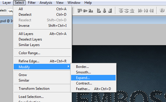 Embossed-14-letterpress-embossed-text-effect-tutorial-photoshop
