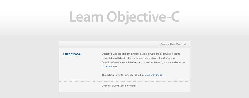 FireShot Screen Capture #028 - 'Cocoa Dev Central_ Learn Objective-C' - cocoadevcentral_com_d_learn_objectivec