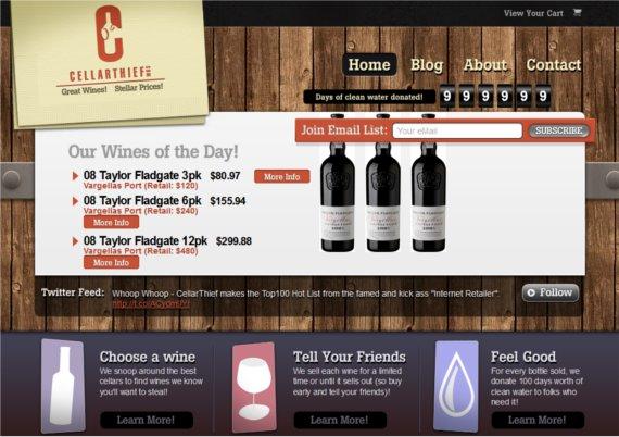 CellarThief-15-Eye-Catching-Food-Beverage-Ecommerce-Website-Designs
