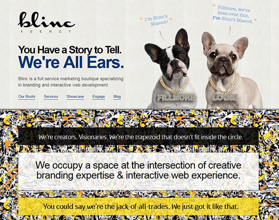 blinc-agency-single-page-website