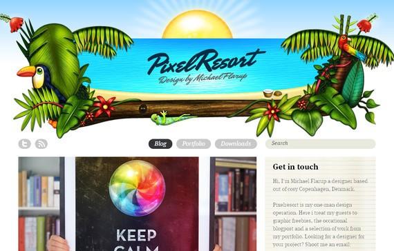 Pixel Resort