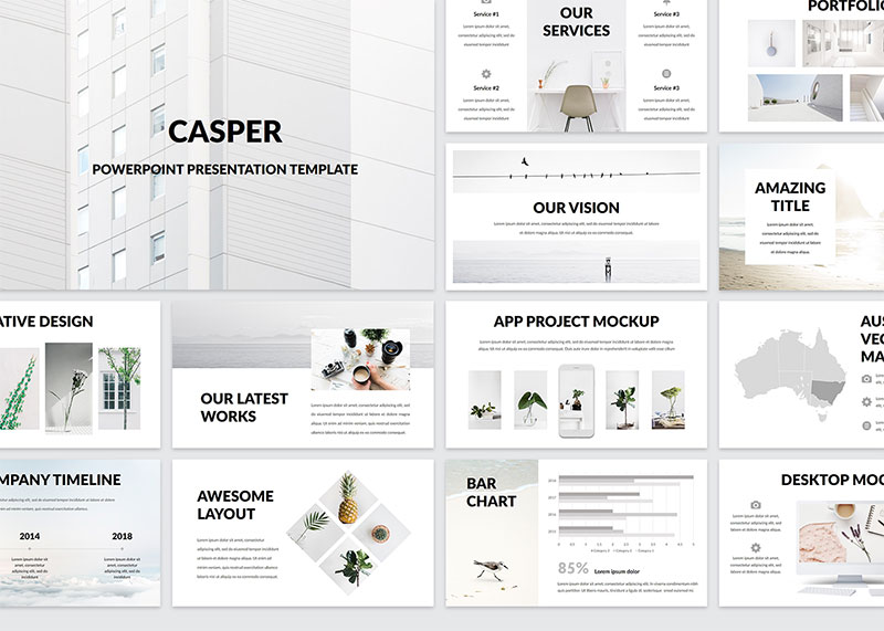 1Modern-PowerPoint-Templates-by-Casper The best free minimalist Powerpoint templates