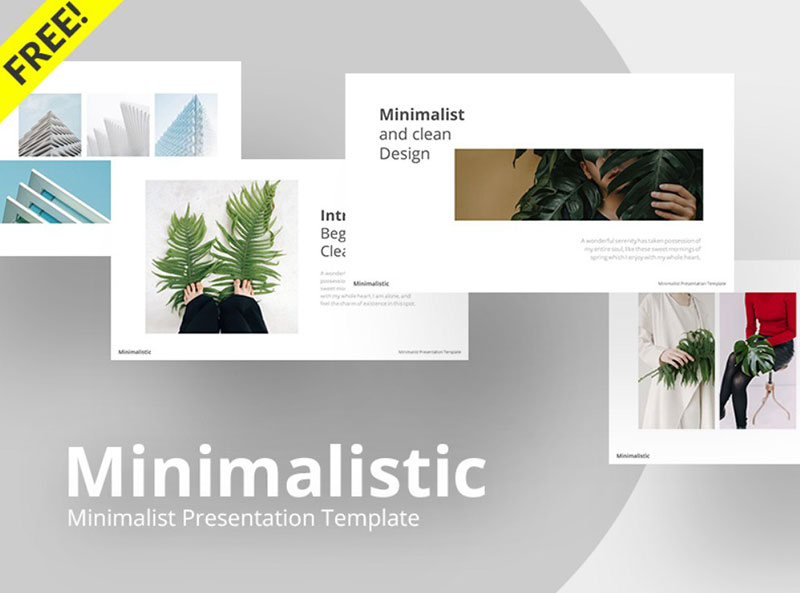 Minimalistic-–-Clean-PowerPoint-Template-Design The best free minimalist Powerpoint templates