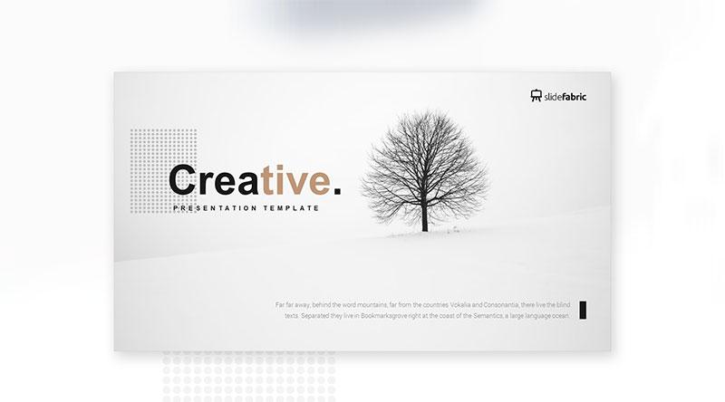 Creative-–-Free-Layout-Design The best free minimalist Powerpoint templates