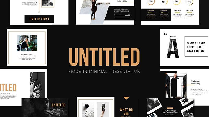 Nook-Aesthetic-Minimalist-Template The best free minimalist Powerpoint templates