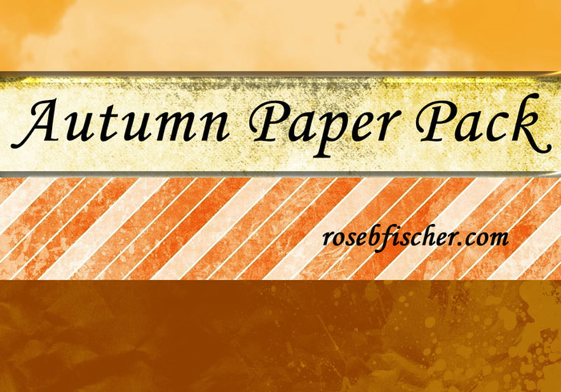Autumn-Textured-Paper-Pack-Far-from-nature Free autumn background images to use in designs this fall
