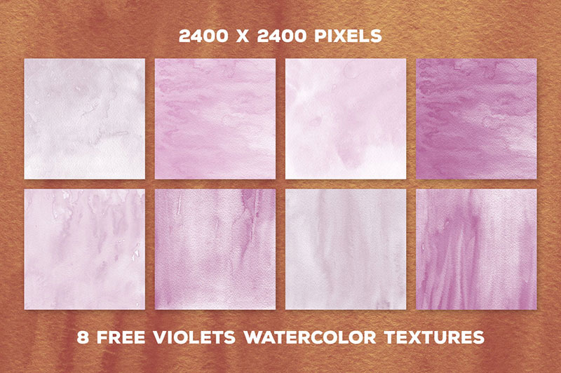 Violet-Watercolor-Hard-strokes Purple background images and textures you can use in your work
